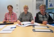 Frá vinstri: Sigrún Hauksdóttir, Dögg Hringsdóttir og Hildur Gunnlaugsdóttir