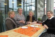Frá vinstri: Gunnhildur, Hildur, Gunnhildur og Ingibjörg